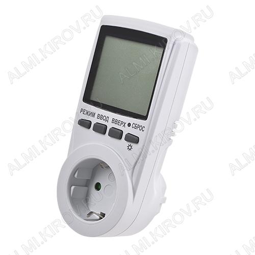 Ваттметр/счетчик электроэнергии PM-3 с подсветкой