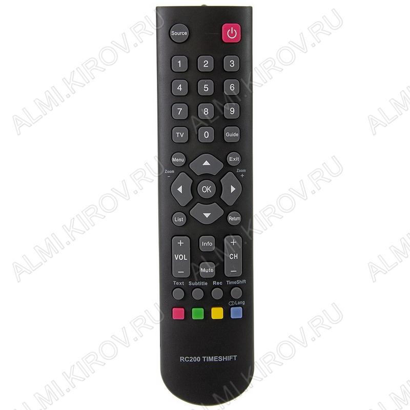 ПДУ для ERISSON/FUSION/THOMSON RC200 TIMESHIFT LCDTV