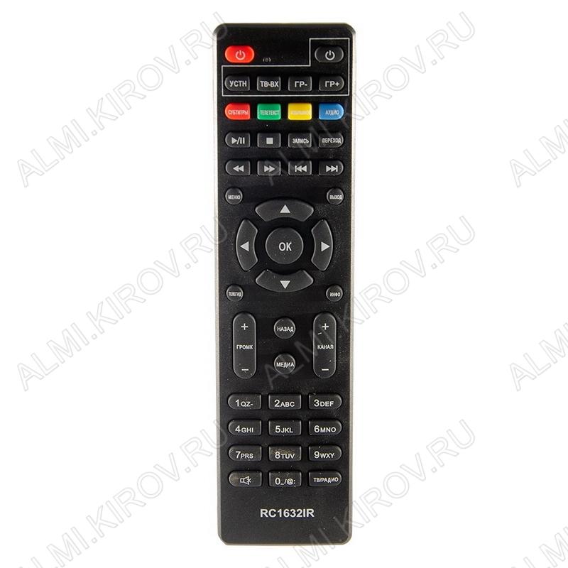 ПДУ для CADENA RC1632IR (для ресивера DVB-T2)