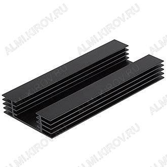 Радиатор HS151-150 алюминий 150x70x20, ребристый, 6.1 грС/Вт, 1.1 кг/м