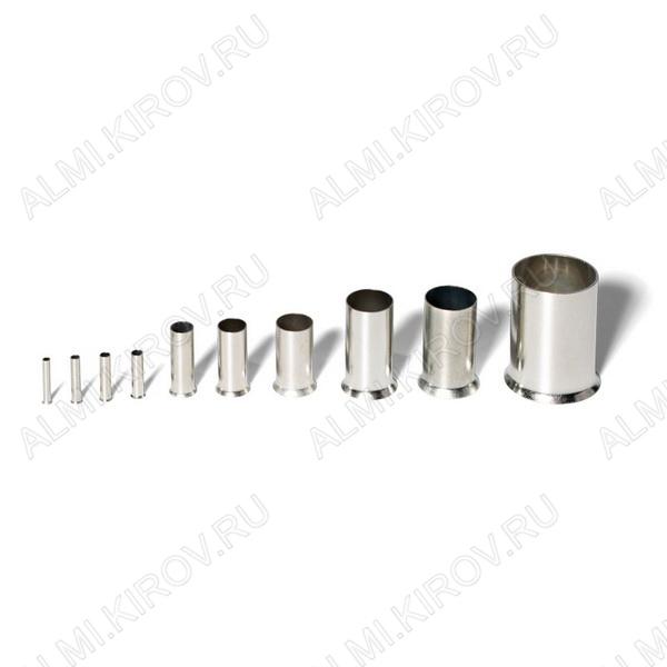 Наконечник (№ 1) штыревой втулочный НШВ 0.75-6 сечение 0.75 мм2; L=6.0 мм