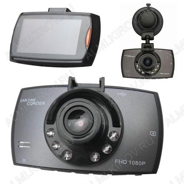 Видеорегистратор автомобильный TS-CAP28 (HAD-34) Full microSD - карта 4-32Gb; Li-ion аккумулятор; дисплей 2.7