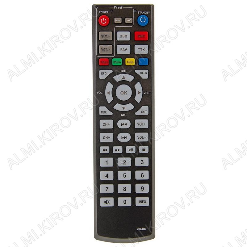 ПДУ для ORIEL VER.U6 (для ресивера) DVB-T2