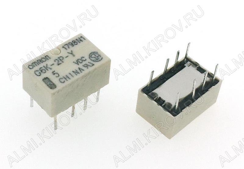 Реле G6K2PY5DC Тип 00 5VDC