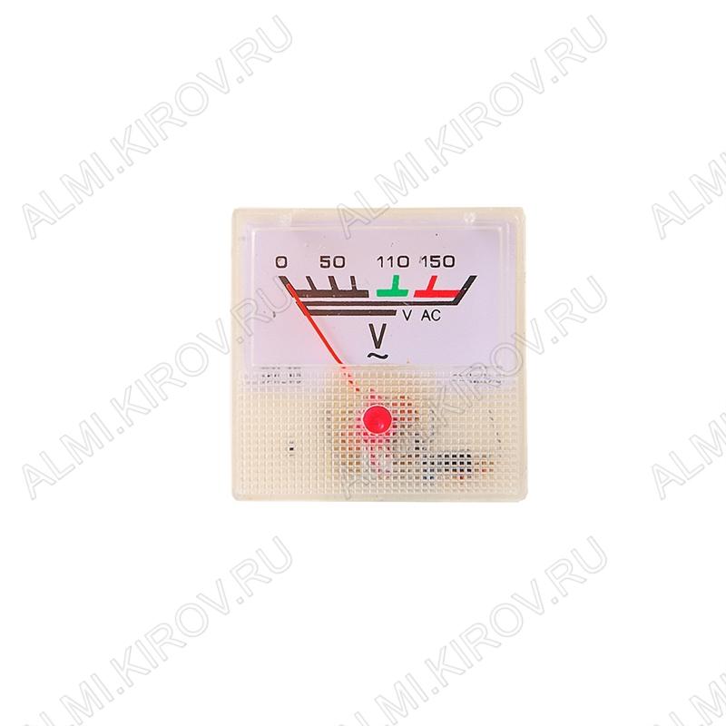 Вольтметр 150V DC (40*40)