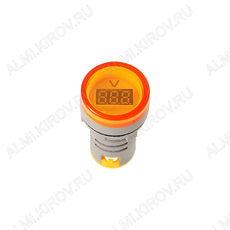 Вольтметр цифровой (60-450VAC) желтый