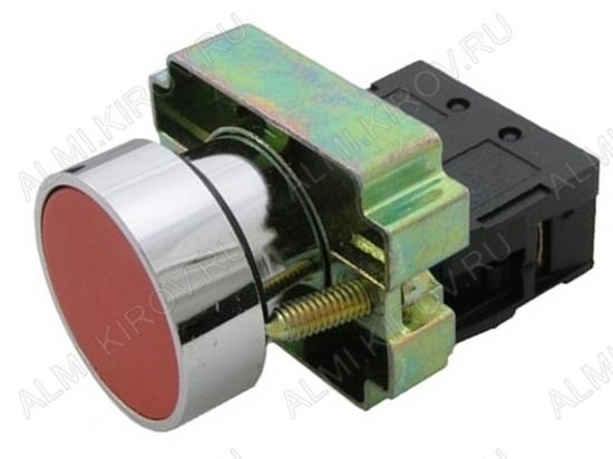 Кнопка управления 3SA8-BA41 ON-(OFF) красный NC 3.0A/240V