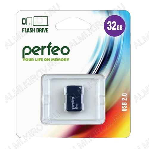 Карта Flash USB 32 Gb M03 Черная миниатюрная USB 2.0