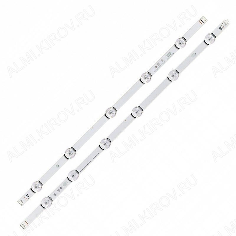 Модуль подсветки LED TV 1157мм 11 линз (комплект 2 планки: 6 + 5 LED) 6916L-1991A/6916L-1992A
