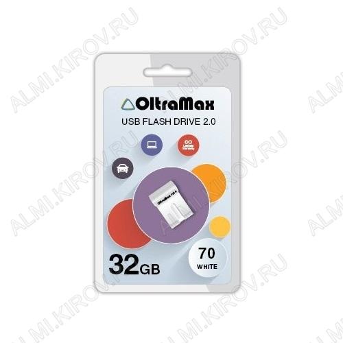 Карта Flash USB 32 Gb (70 White mini) USB 2.0