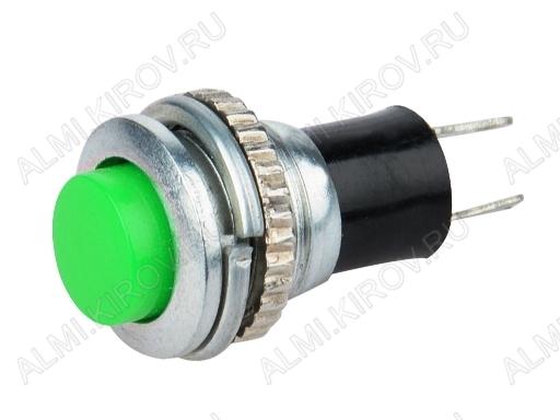 Кнопка RWD-304 OFF-(ON) (зеленая без фикс.) 250V; 1A