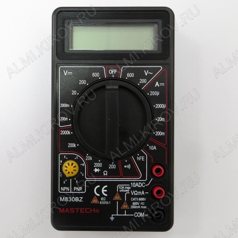 Мультиметр M-830BZ (гарантия 6 месяцев)