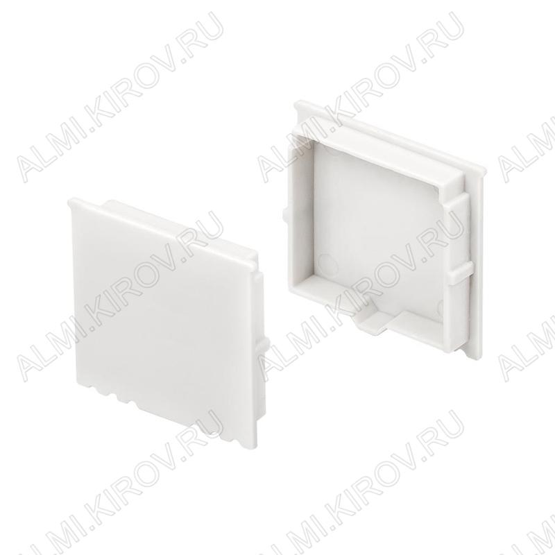 Заглушка ARH-POWER-W35 (017623)  для профиля ARH-POWER-W35-2000 ANOD глухая; пластик
