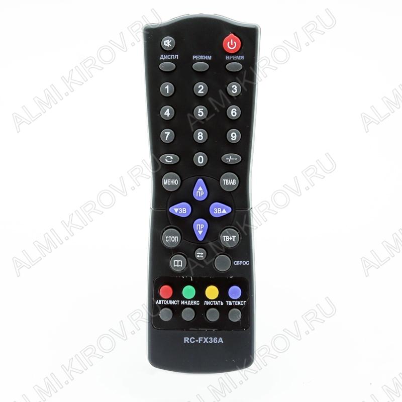 ПДУ для СОКОЛ RC-FX36A TXT TV