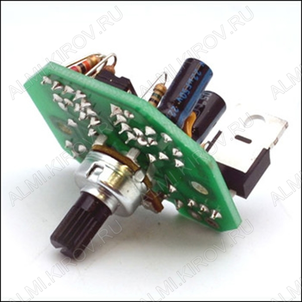 Радиоконструктор Регулятор ШИМ 0...24В (50А) BM4511 0...24В (50А). Питание 12...24В. Регулятор яркости ламп накаливания