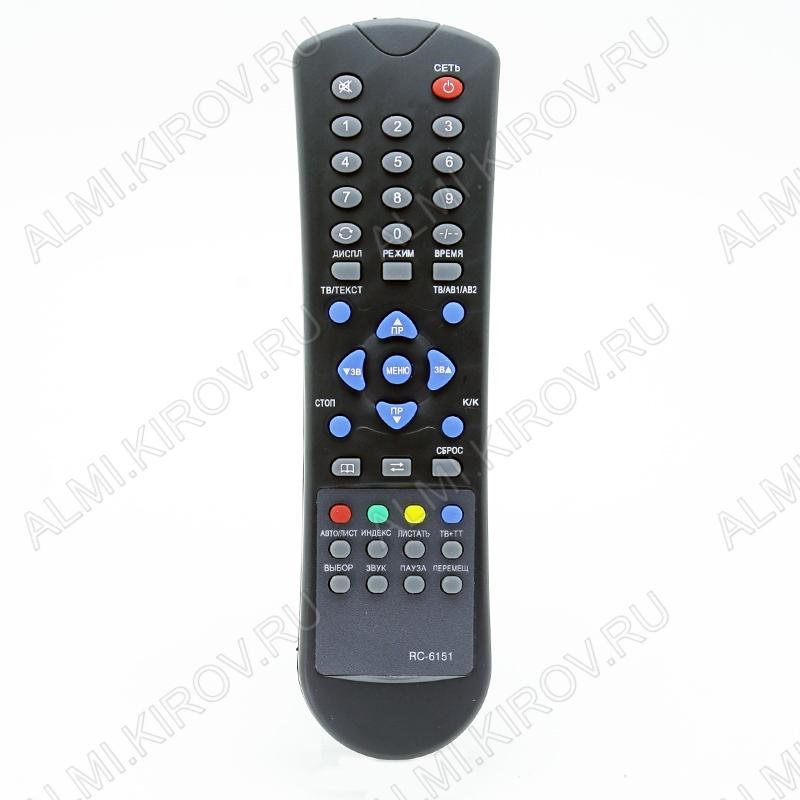 ПДУ для СОКОЛ RC-6151 TXT TV