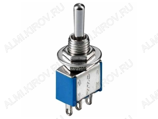 Тумблер MTS-103 (250V;3A) ON-OFF-ON 3 pin