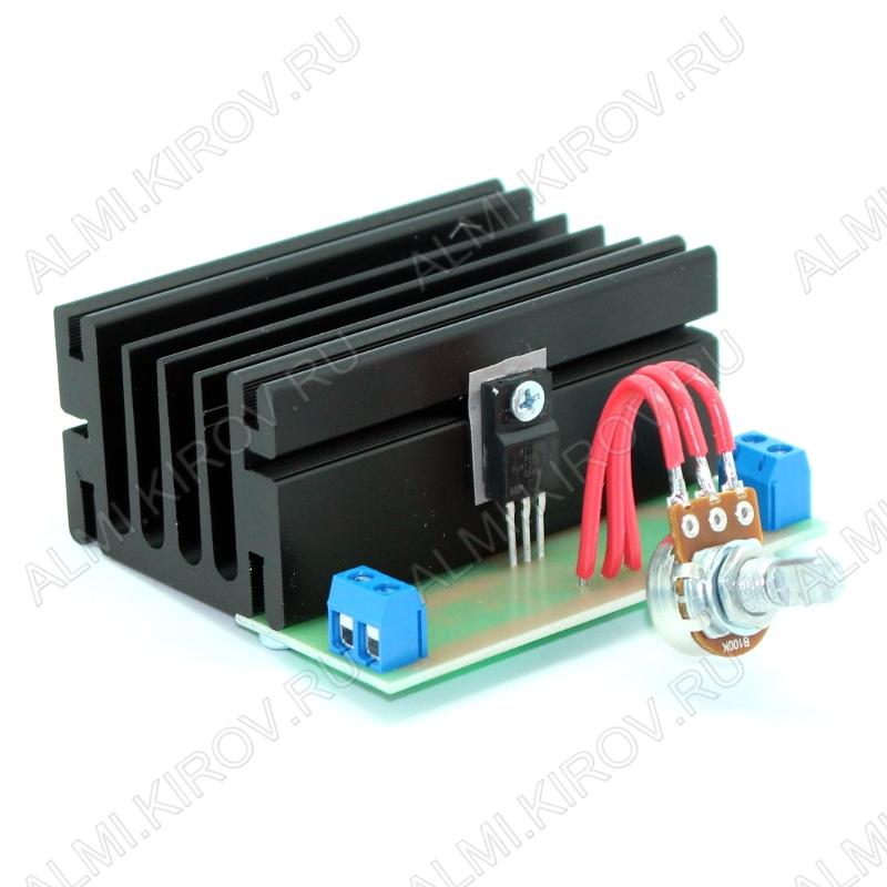 Радиоконструктор Регулятор мощности 3000Вт 220В BM071 (на K1182ПМ1) 220В (13А). Подключение устройства: в разрыв нагрузки. Пределы регулировки мощности: 0:100 %.Кроме люминесцентных ,энергосберегающих ламп и индуктивно