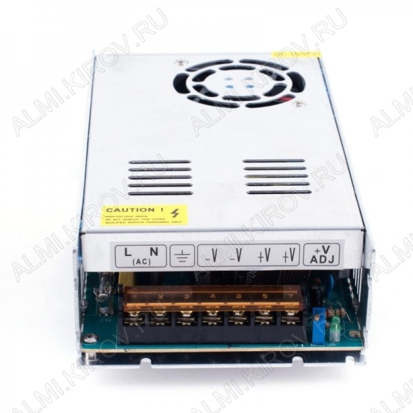 Модуль AC/DC S-300-24 (000119)   24V 12.5A 300W 215*115*50мм; защитный кожух; клеммы; вентилятор