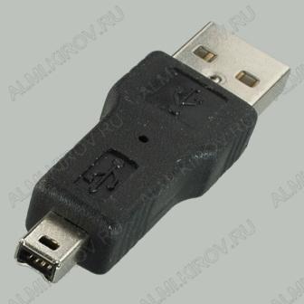 Переходник (502) USB A штекер/IEEE1394 4pin штекер
