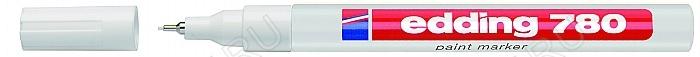 Маркер д/печатных плат 0,8мм EDDING-780 белый с лакирующим эффектом