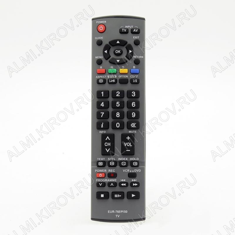 ПДУ для PANASONIC EUR7651150 LCDTV