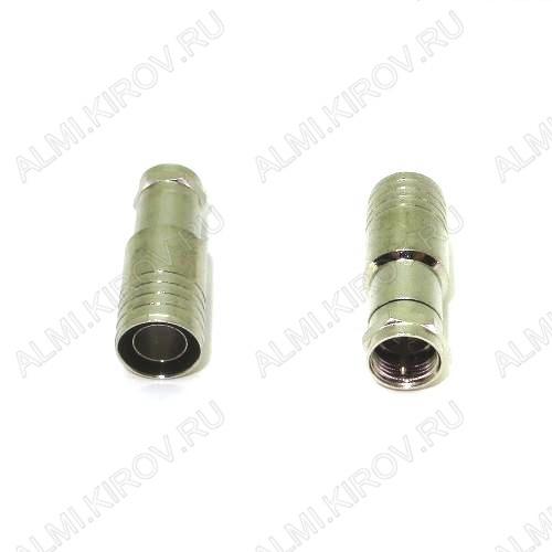 Разъем (3592) F штекер на кабель RG11 с пином обжимной