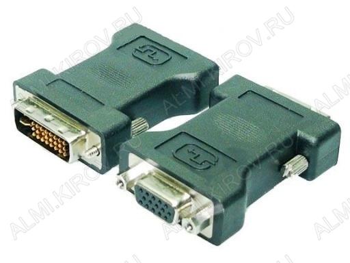 Переходник (2194) DVI штекер/VGA 15pin гнездо