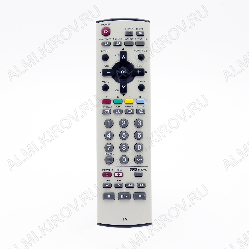 ПДУ для PANASONIC N2QAJB000161 TV/DVD/VCR