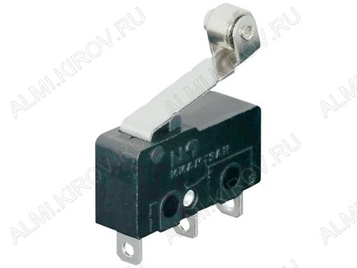 Переключатель RWA-204 пластина+ролик 3.0A/250V; 3 pin