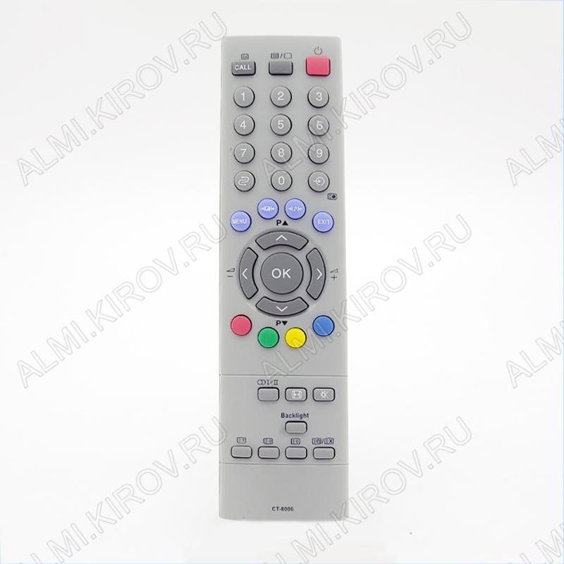 ПДУ для TOSHIBA CT-8006 LCDTV