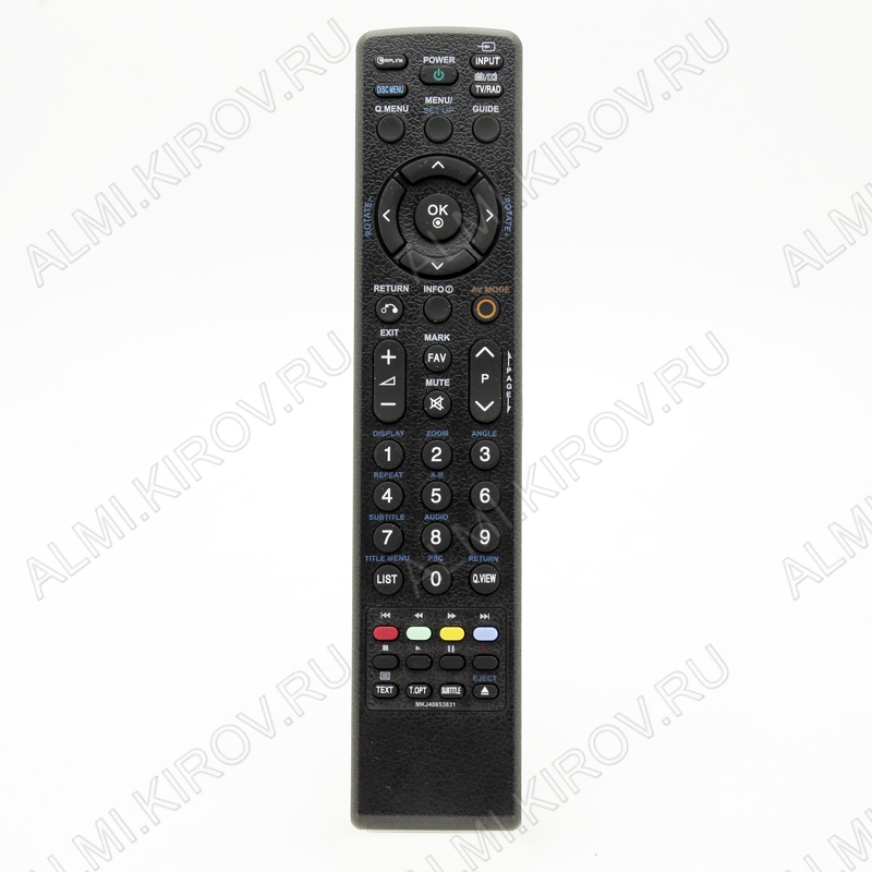ПДУ для LG/GS MKJ40653831 LCDTV+DVD