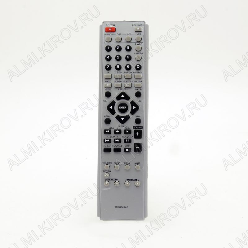 ПДУ для LG/GS 6710CDAK11B DVD