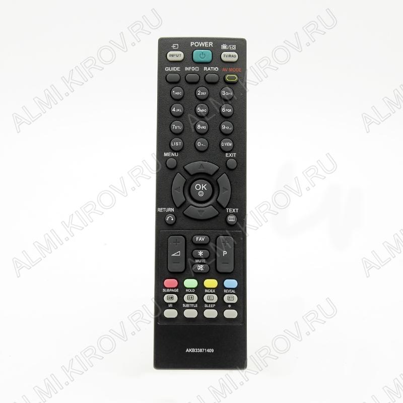 ПДУ для LG/GS AKB33871409 LCDTV