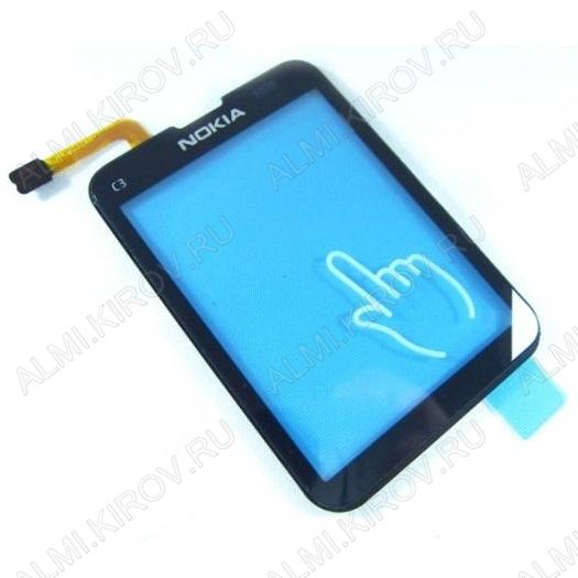 ТачСкрин для Nokia C3-01 черный