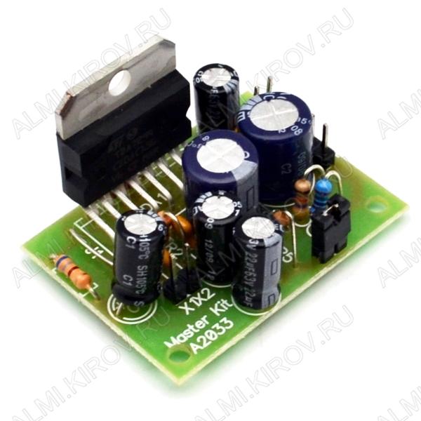 Радиоконструктор Усилитель 1х100Вт BM2033 (на TDA7294, готовый блок) Усилитель можно использовать для сабвуфера.В предварительных и выходных каскадах усиления применяются полевые транзисторы.