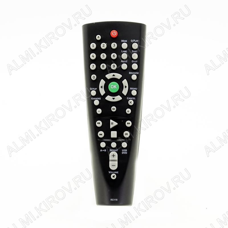 ПДУ для BBK RC-116 DVD