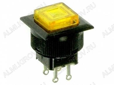Кнопка RWD-313 (желт. без фикс.с подсвет)