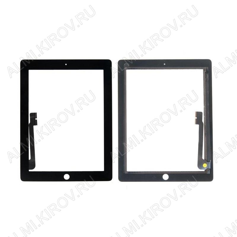ТачСкрин для Apple iPad 3 черный