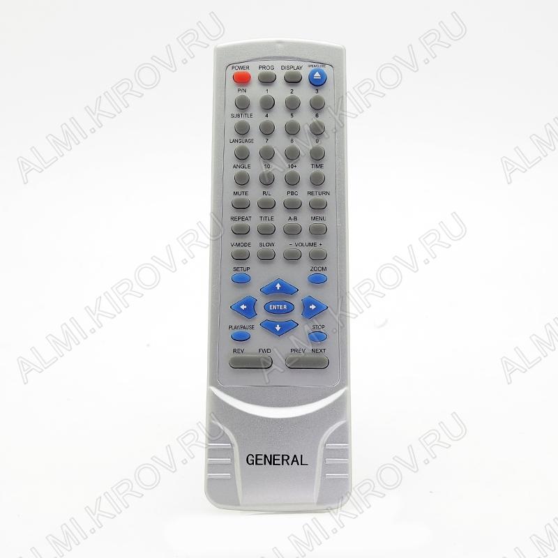 ПДУ для GENERAL/ERISSON JX-2008B DVD