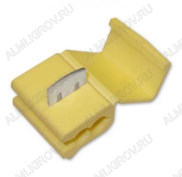 Ответвитель провода (№3) 3MY (LT-217) (OB3) сечение 4.0-6.0 мм2; желтый