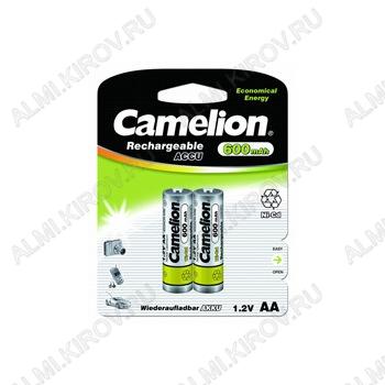 Аккумулятор R6/AA 600mAh 1.2V;NiCd;блистер 2/24                                                                                                          (цена за 1 аккумулятор