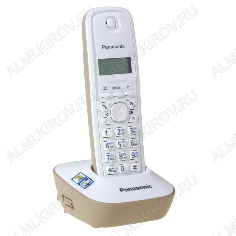 Радиотелефон KX-TG1611RU J бежевый