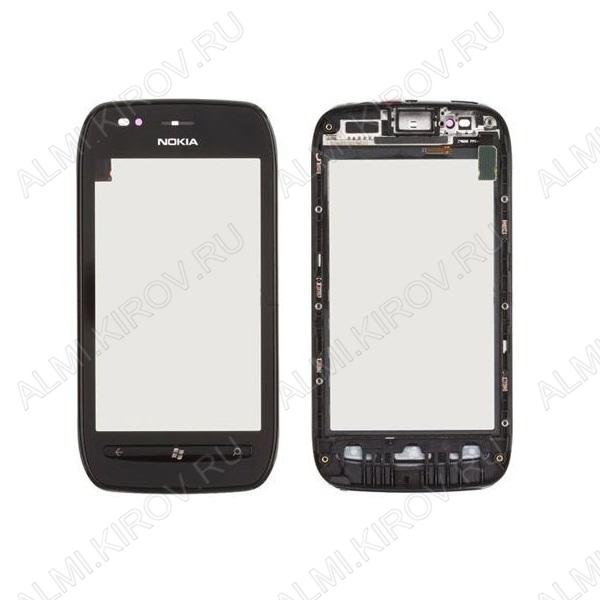 ТачСкрин для Nokia 710 черный