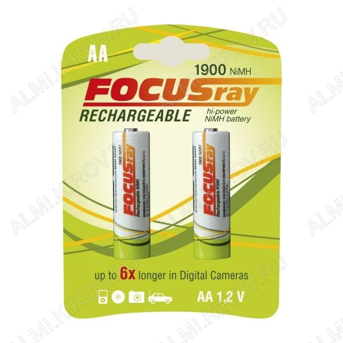 Аккумулятор R6/AA 1900mAh 1.2V;NiMh;блистер 2/24/288                                                                                                 (цена за 1 аккумулятор)