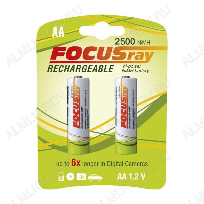 Аккумулятор R6/AA 2500mAh 1.2V;NiMh;блистер 2/24/288                                                                                                  (цена за 1 аккумулятор)