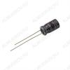 Конденсатор электролитический   100мкФ 25В 0611 +105°C