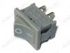 Сетевой выключатель RWB-201 (KCD1-101) серый 19,2*13,0mm; 6A/250V; 2 pin