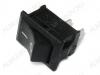 Сетевой выключатель RWB-201 (KCD1-101) черный 19,2*13,0mm; 6A/250V; 2 pin