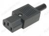 Разъем (403) AC-102 гнездо на кабель 250V; 10A